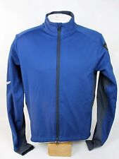 REI Running Hiking Cycling Blue Softshell Jacket Zip-Up Collar Size Med. Used!