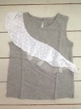 Girls Gap tank top stretchy cotton grey 3 years brand new in original packaging