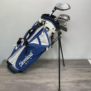 KID ZEVO OVERSIZE Junior Iron set Cleveland Bag, golf mate, Power Bilt