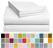 LuxClub Bamboo Sheet Set - Bamboo - Eco Friendly, Wrinkle Free, Hypoallergenic,