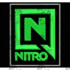 NITRO iron patch gesticker patch toppa ricamata patch brode bordado