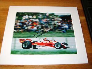 Niki Lauda Genuine Signed Authentic  Autograph - UACC / AFTAL.