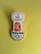 Turkmenistan Olympic Games Pin Noc Beijing Olympics 2008