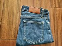 Acne Flex Wet Blue Jeans Men's 27 Waist 28 Inseam