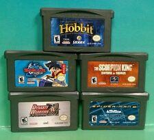 Scorpion King Spider-Man Hobbit Dynasty Bey Blade  Nintendo Game Boy Advance GBA