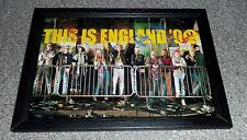 "THIS IS ENGLAND 90 PP SIGNED FRAMED A4 12""X8"" POSTER JOE GILGUN WOODY LOL"