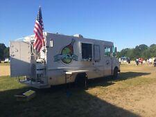 Diesel Oshkosh Step Van Food Truck / Used Mobile Kitchen for General Use for Sal