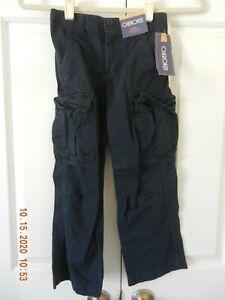NWT, Cherokee Boy's Bar Harbor Blue Cargo Pants, Size 5