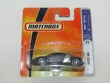 Matchbox Superfast 2008 No 21 Audi R8 Black/Silver MBX Metal MIB