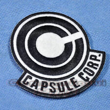 """DRAGON BALL Z Capsule Corp. Trunks Cosplay Embroidered 4"""" Patch Sew On Badge"""