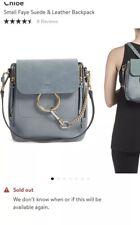 Chloe Faye Small Backpack Dusty Blue
