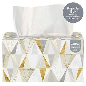 Kleenex Hand Towels POP-UP Box Cloth 9 x 10-1/2 120/Box 01701