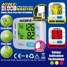 *AS SEEN ON TV* BLOOD PRESSURE MONITOR ACCURATE Color indication the good doctor