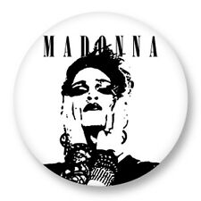 Pin Button Badge Ø38mm Madonna The Queen of Pop