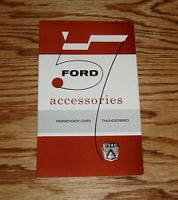1957 Ford Passenger Car & Thunderbird Accessories Sales Brochure 57