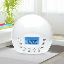 Wake Up Light with Sunrise Simulation, Alarm Clock, FM Radio and Nature Sounds