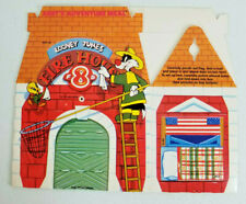 Arby's 1989 Kids Meal Box - Looney Tunes No. 4 Firehouse