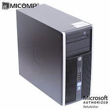 HP Elite 8300 Tower PC i5-3470 Quad Core 3.2Ghz 8GB 1TB DVDRW Windows 10 Pro 64