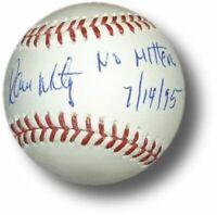 Ramon Martinez Hand Signed Autograph Major League Baseball No Hitter 7-14-95 COA