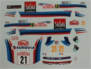Mitsubishi Lancer EvoIX - 6th Rally Monte Carlo 2009 - Frederic Romeyer - Decal