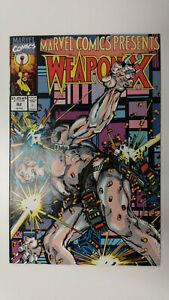 MARVEL COMICS PRESENTS #82  1st Printing - Wolverine - Weapon X    / 1991 Marvel