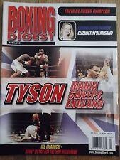 BOXING DIGEST MAGAZINE APRIL 2000 TYSON MANIA SWEEPS ENGLAND!!