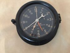 Chelsea 7 Inch  Black Dialed U.S.Army Message Center Clock, M2