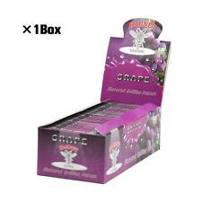 50 Packs HORNET GRAPE Fruit Flavored 78MM Cigarette Rolling Paper 1 1/4 Size