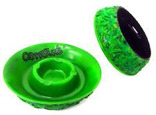 Cannabuds Cannabis Leaf Engraving Ashtray Cigarette Ash Catcher Ceramic