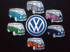 Wholesale 7 Vw Camper Van Iron - Sew On Embroidered Patches Kombi Combi
