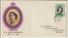 CYPRUS - 1953 CORONATION FIRST DAY COVER
