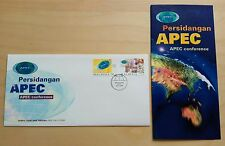 1998 Malaysia APEC Conference 2v Stamps FDC (Melaka Cachet)