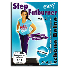Fitness DVD - Easy Step Aerobic Fatburner Vol.2 - Für Steppbrett Stepper - Neu