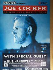 JOE COCKER 1999 HANNOVER  orig.Concert Poster -- Konzert Plakat  A1 - NEU