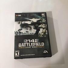 Battlefield 2142: Deluxe Edition (PC, 2008) Complete Cib p