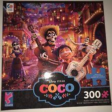 "Ceaco Disney Pixar Movie COCO 300 Piece Jigsaw Puzzle 18"" x 24"" With Poster New"