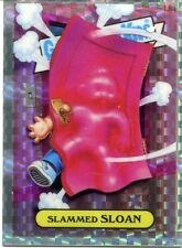 Garbage Pail Kids Chrome Series 1 X Fractor Lost Card L8a Slammed Sloan