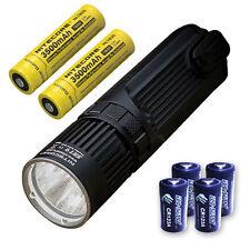 Nitecore SRT9 Flashlight -2150 Lumens w/2x NL1835 & 4x CR123A Batteries