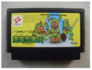 Nintendo Famicom Gekikame Ninja Den Teenage Mutant Ninja Turtles fc JP NTSC-J