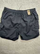 New listing Foundry Men's Shorts 5XL Black Swimming Pockets Lace-Up Stretch 1358