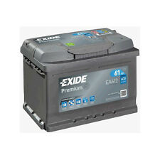 1x Exide Premium 60Ah 600CCA 12v Type 075 Car Battery 4 Year Warranty - EA612