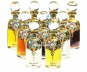 List 3 - Largest Selection of Oil Based Attar - Alcohol Free for Personal Use