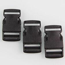 10 X Steckschnalle Steckschließer 25 mm Kunststoff Steckverschluss für Gurtband