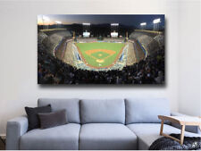 Los Angeles  Dodgers Baseball Stadium Panoramic - Dodger Stadium 36 x 24