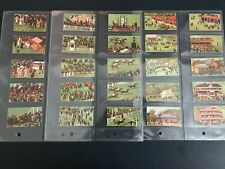More details for cigarette cards derby day series 1914 full set