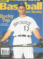 Beckett Baseball Card Monthly Magazine November 2000 #188 Todd Helton Rockies