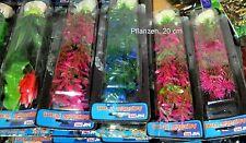 15 Künstliche Aquariumpflanzen GROSSES SORTIMENT 4x40cm 4x 30cm 4x20cm 3x 10 cm