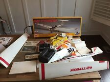 Vintage Rare Cox 049 Typhoon 1/11 Scale Motor Glider W Box + Lots Of Extras