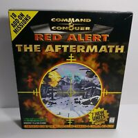 Command & Conquer Red Alert - The Aftermath PC CDROM 1997 Big Box Expansion Game