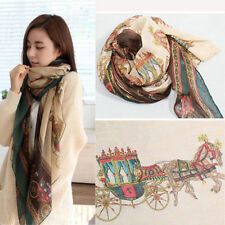 Fashion Women Lady Girls Soft Long Carriage Scarf Large Wrap Shawl Scarves New T